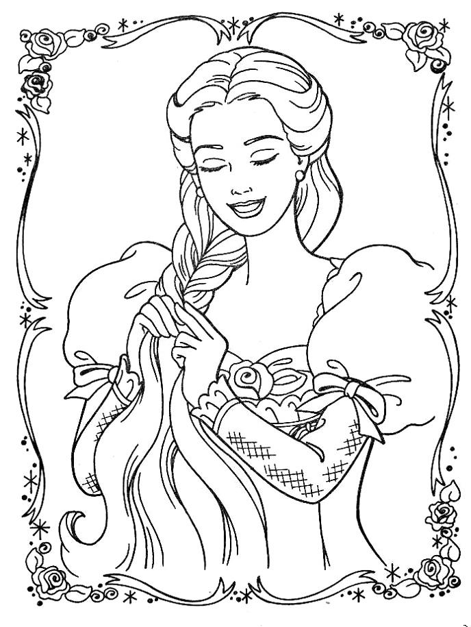 Barbie Printesa Rapunzel